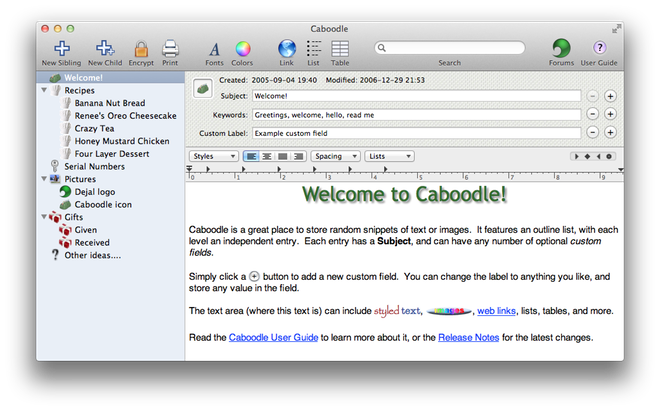Caboodle Screenshot