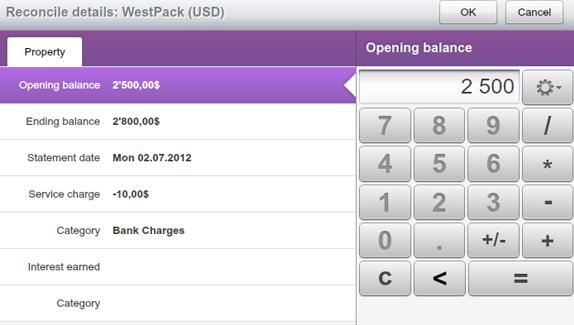Cash Organizer Desktop, Business & Finance Software Screenshot