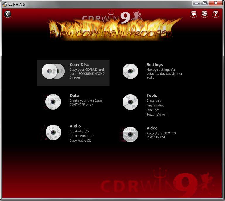 CDRWIN 9 – 光盘刻录软件丨反斗限免