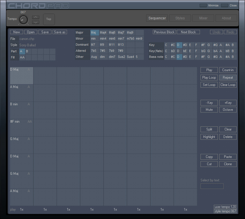 Chord Pad Screenshot