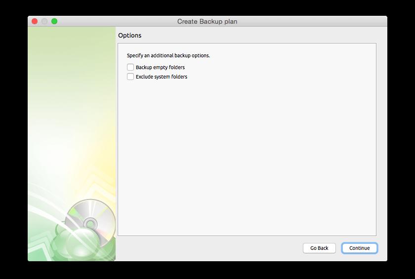 Cloudberry Backup for Mac Screenshot 8