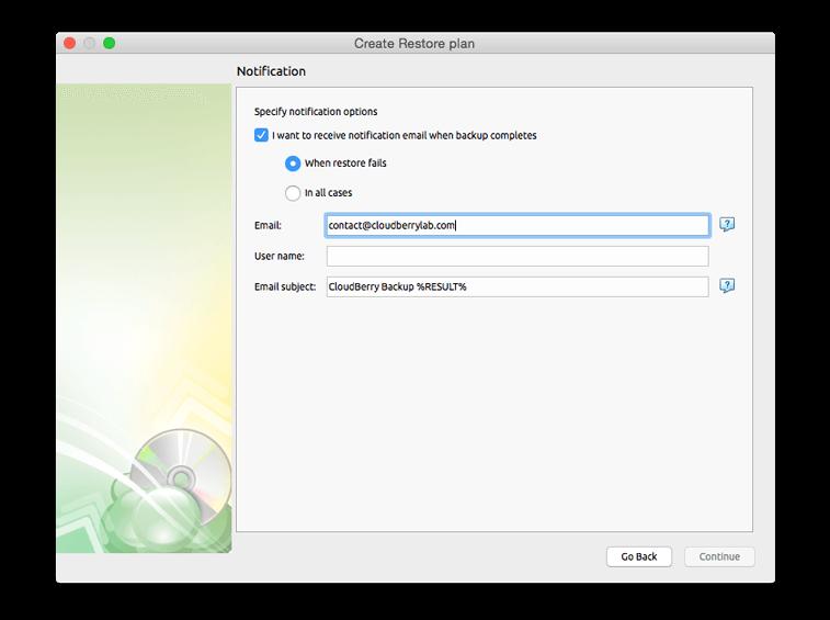 Cloudberry Backup for Mac Screenshot 12