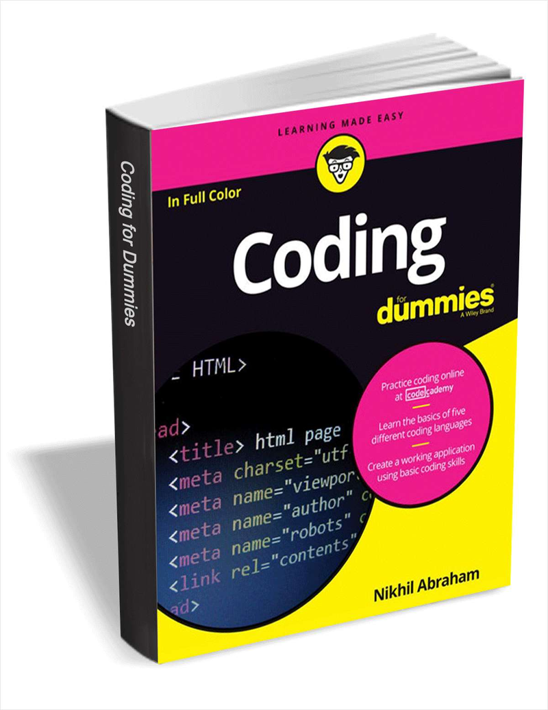 Coding For Dummies ($16 Value) FREE For a Limited Time Screenshot