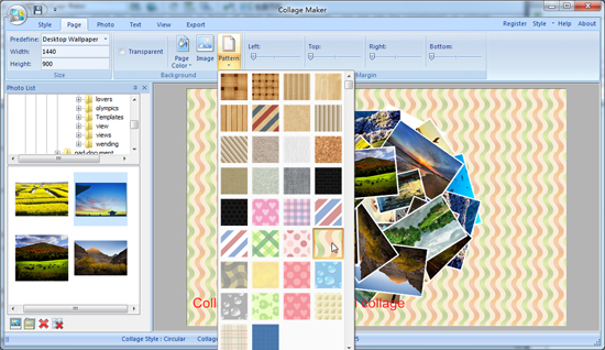 Collage Maker, Design, Photo & Graphics Software Screenshot
