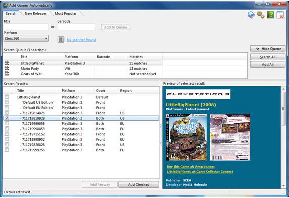 Collectorz.com à la carte!, Software Utilities, Other Utilities Software Screenshot