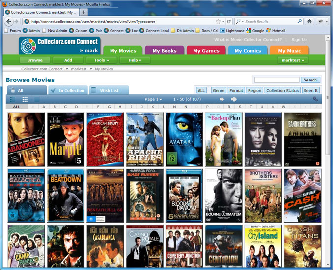 collectorzcom movie collector cataloging software for