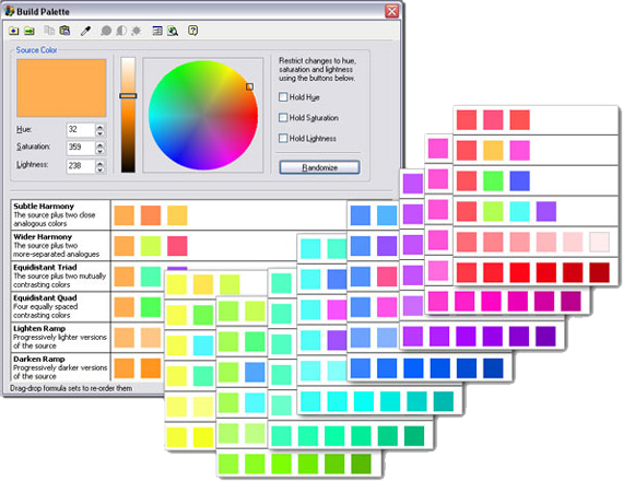 ColorCache, Design, Photo & Graphics Software Screenshot