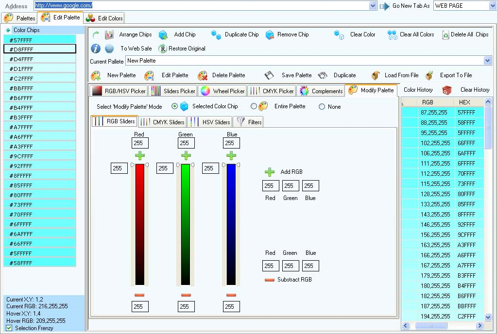 ColorPro Screenshot