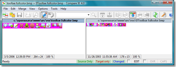 Compare It!, Files and Folders Software Screenshot