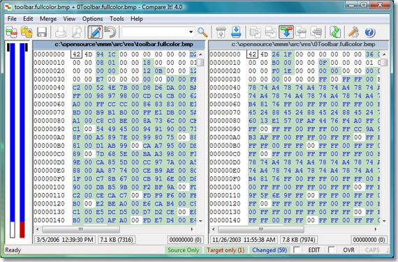Compare It!, Software Utilities Screenshot