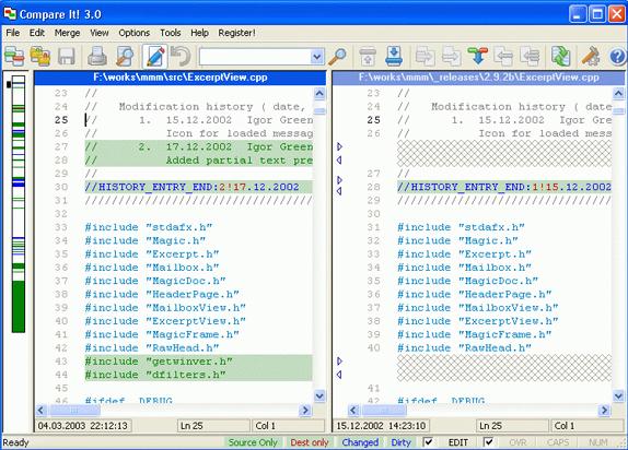 Compare It! Screenshot