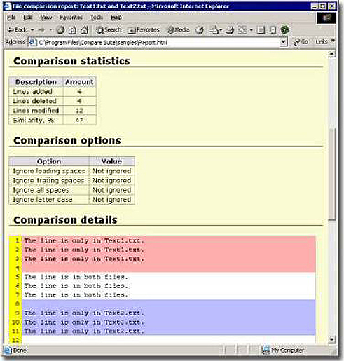 Business & Finance Software, Compare PDF Screenshot