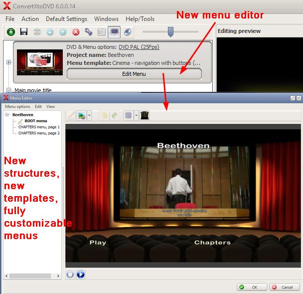 ConvertXtoDVD, Video Converter Software Screenshot