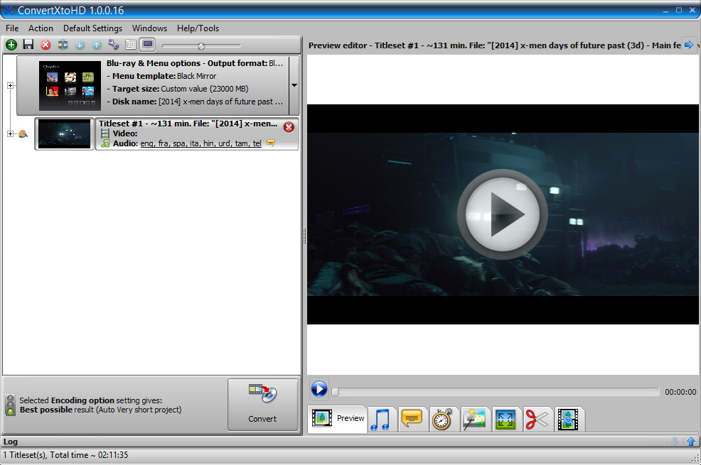 ConvertXtoHD Screenshot