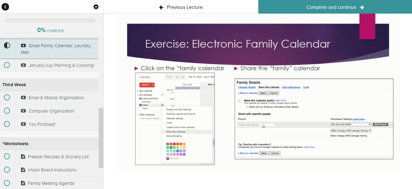 Create Work - Life Balance for Busy Professionals in 21 days Screenshot