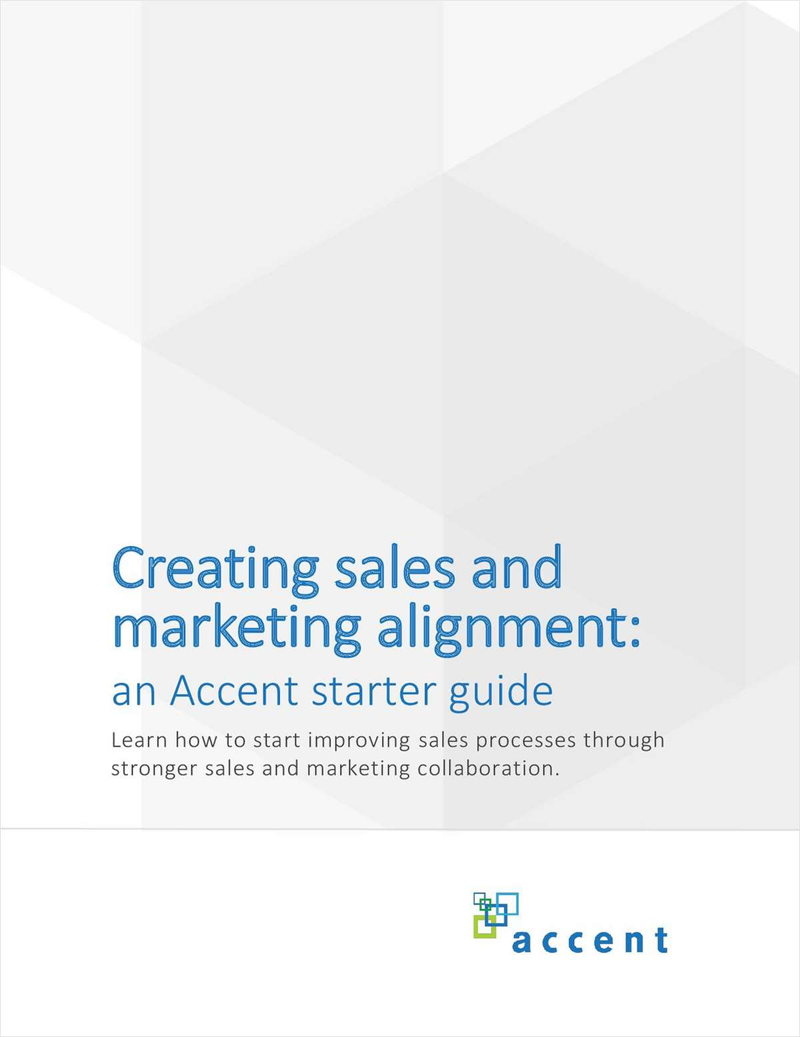 Creating Sales & Marketing Alignment Screenshot