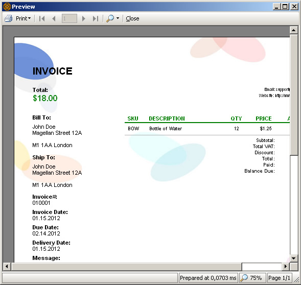 Business & Finance Software, Accounting Software Screenshot