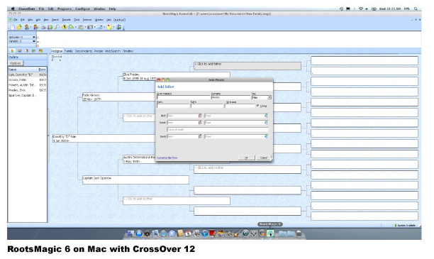 CrossOver 12 Mac and CrossOver 12 Linux Screenshot