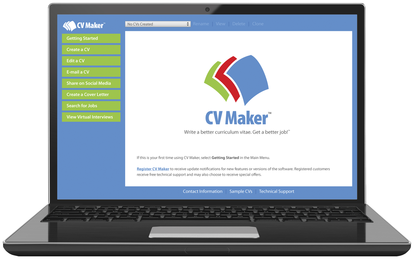 CV Maker Screenshot