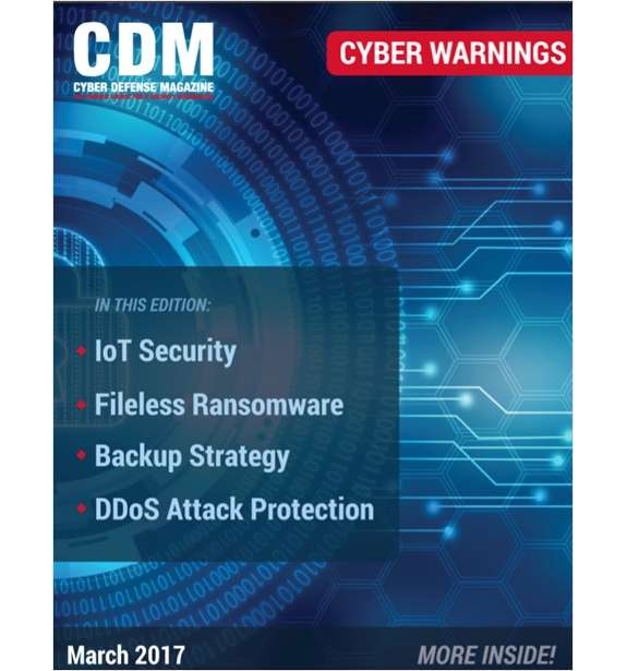 Cyber Warnings E-Magazine - March 2017 Edition Screenshot