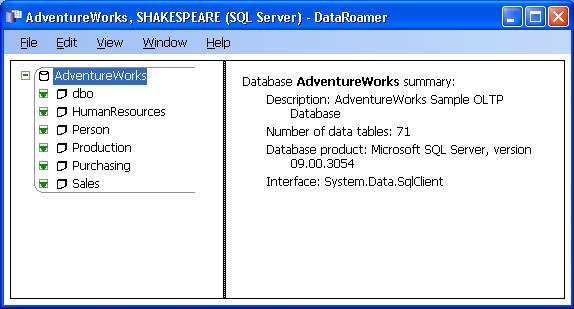 DataRoamer Screenshot
