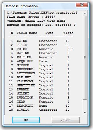 Development Software, DBFView Unlimited Business License Screenshot
