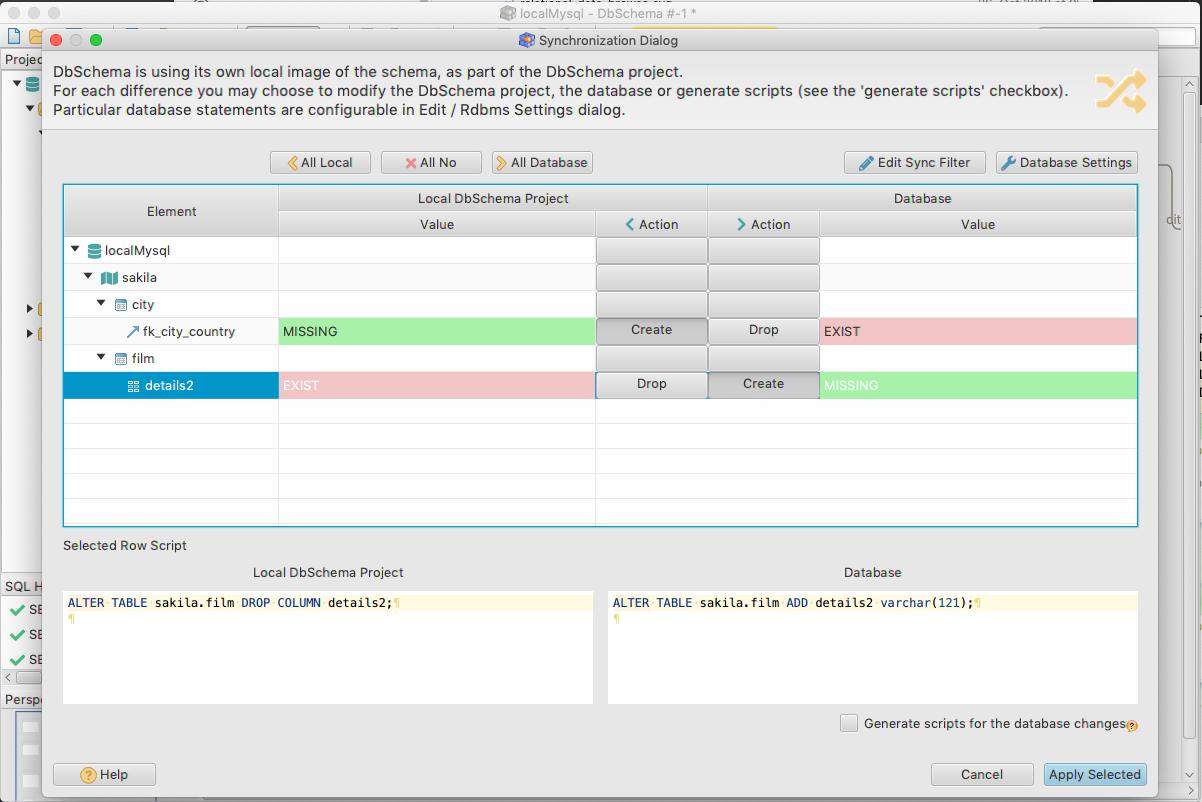 DbSchema: Database Diagram Designer Screenshot 10