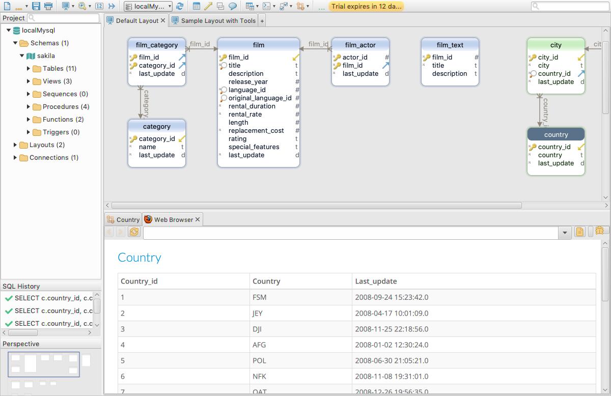 DbSchema: Database Diagram Designer, Database Software Screenshot