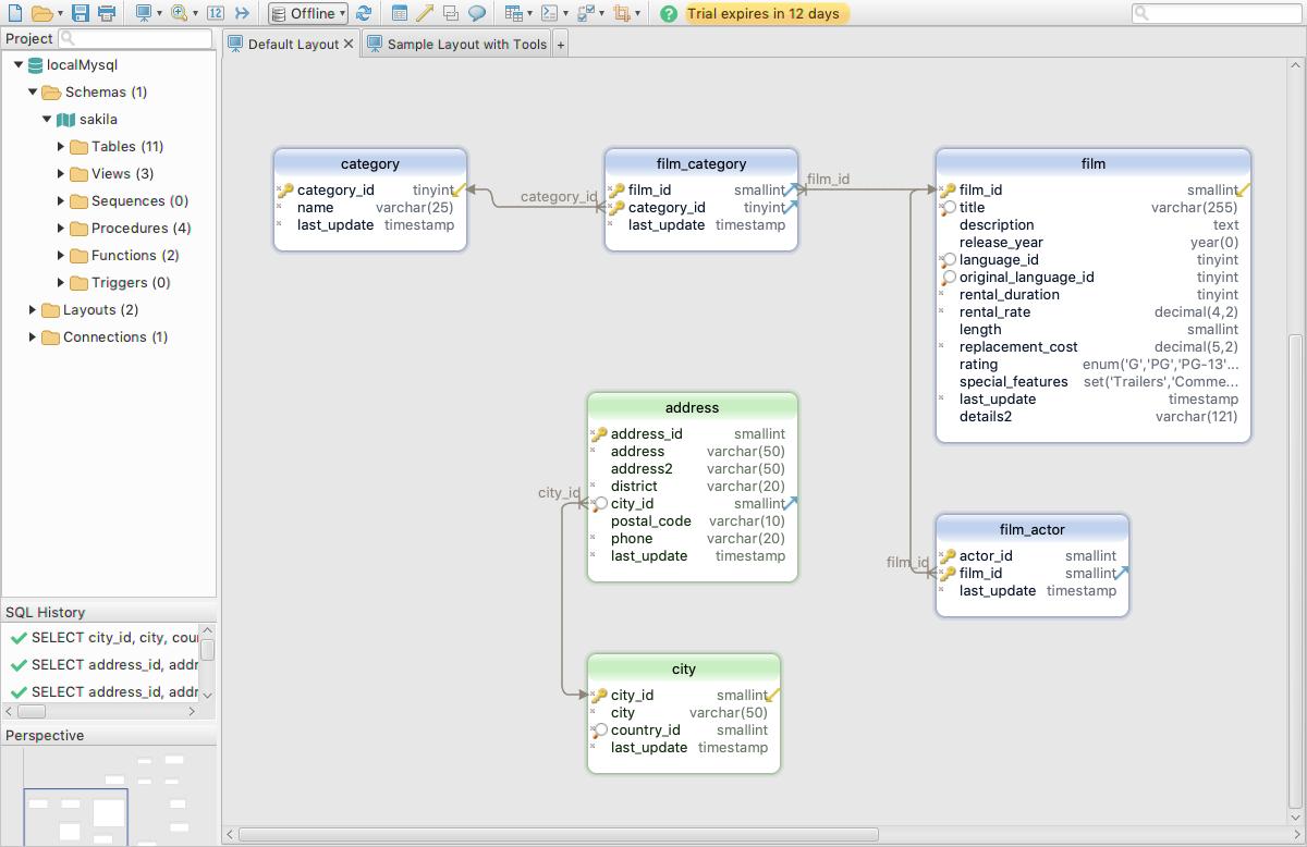 DbSchema: Database Diagram Designer Screenshot 11
