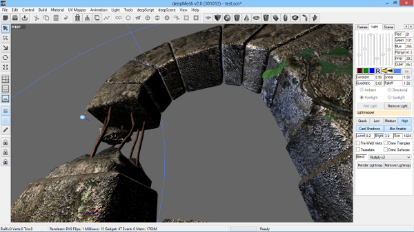 Graphic Design Software, deepMesh Screenshot