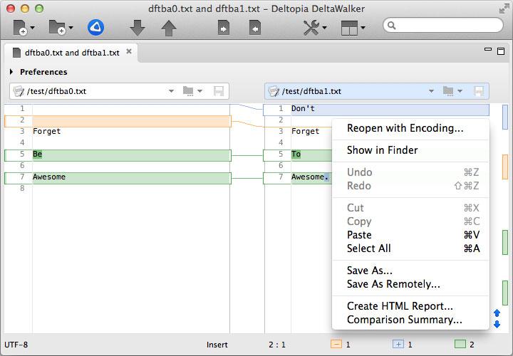 File Management Software, DeltaWalker 2 Screenshot