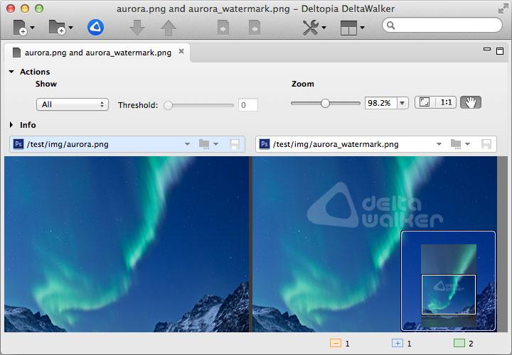 DeltaWalker 2, Software Utilities Screenshot