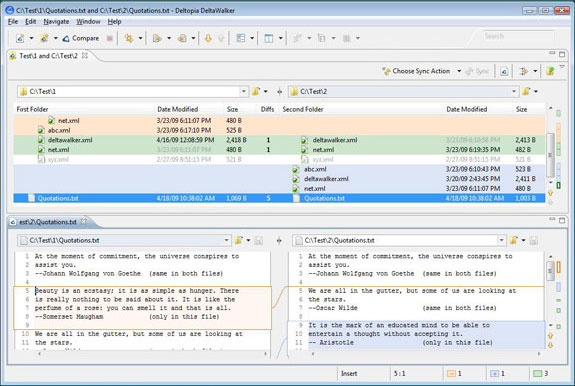 DeltaWalker, Software Utilities Screenshot