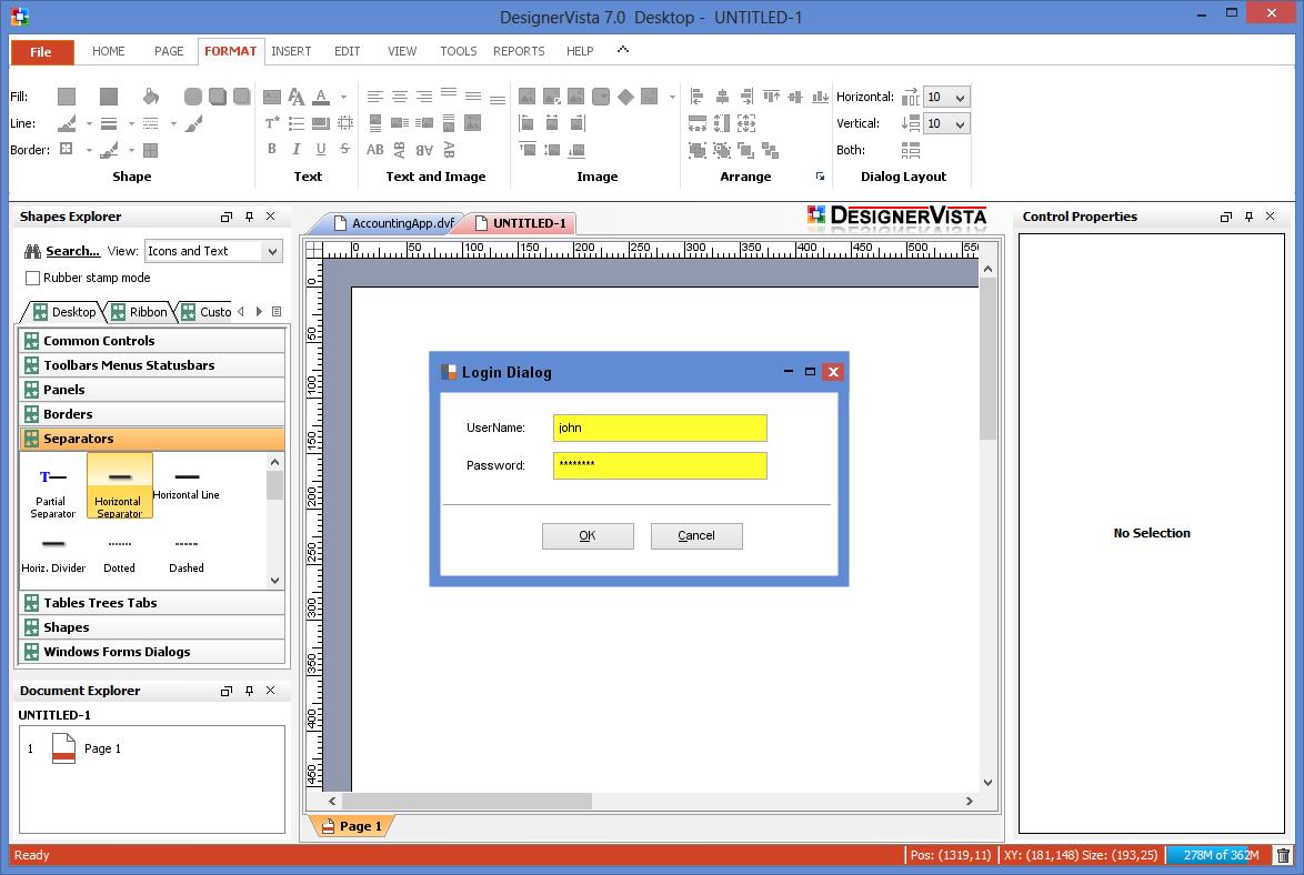 Software Gui Designer