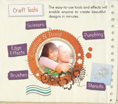 Digital Scrapbook Artist 2, Design, Photo & Graphics Software Screenshot