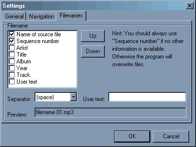 MP3 Recording Software, Direct WAV MP3 Splitter Screenshot