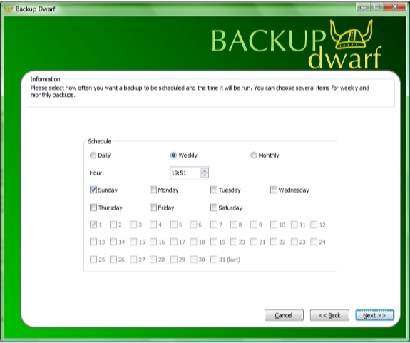 Directory Lister Pro and Backup Dwarf Professional Screenshot 13