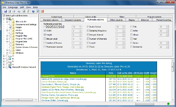 Directory Lister Pro and Backup Dwarf Professional Screenshot 10