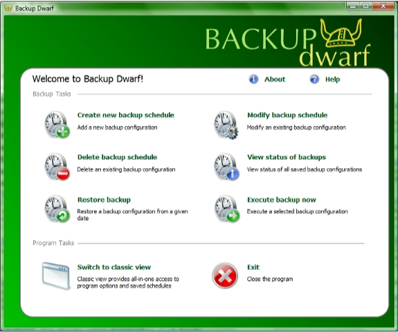 Directory Lister Pro and Backup Dwarf Professional Screenshot 11