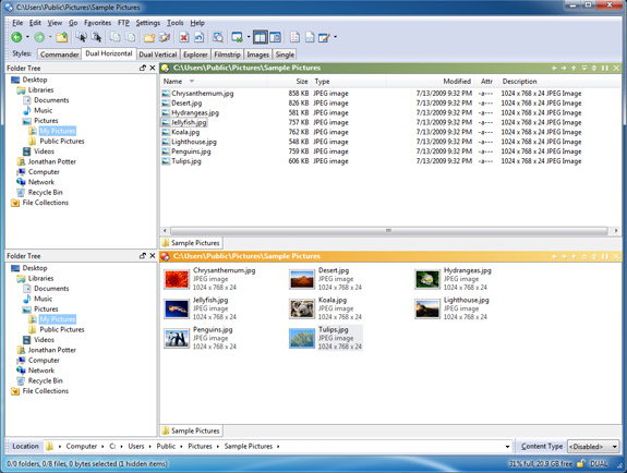 Directory Opus 9 Screenshot