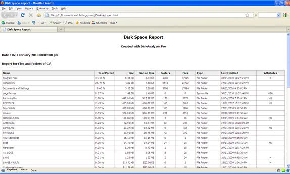 DiskAnalyzer Pro Screenshot 12