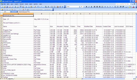 DiskAnalyzer Pro Screenshot 14