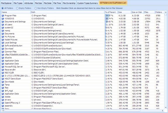 DiskAnalyzer Pro Screenshot 8