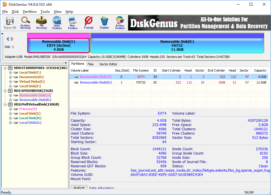 DiskGenius Pro Screenshot
