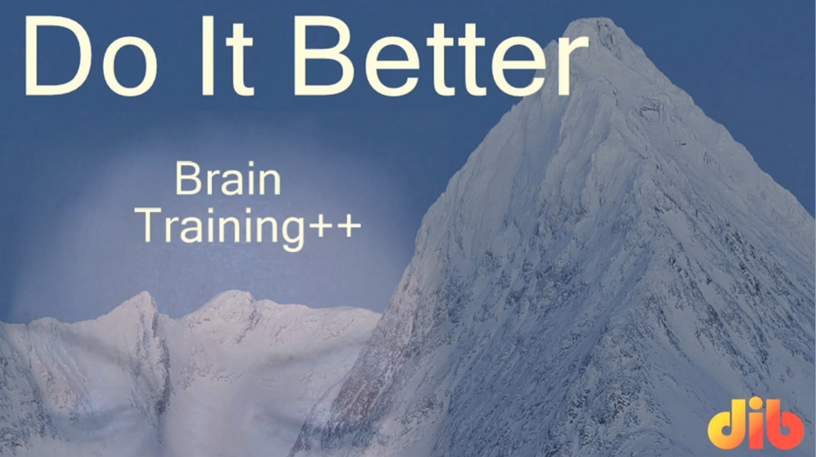 Do It Better -- Brain Training++ Screenshot