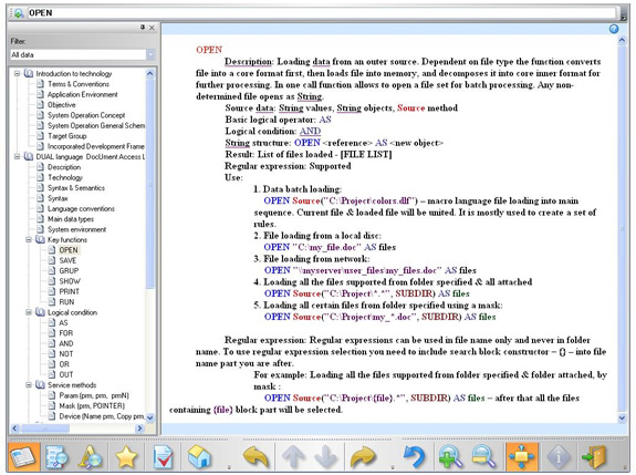 Document Suite 2008, Help Authoring Software Screenshot