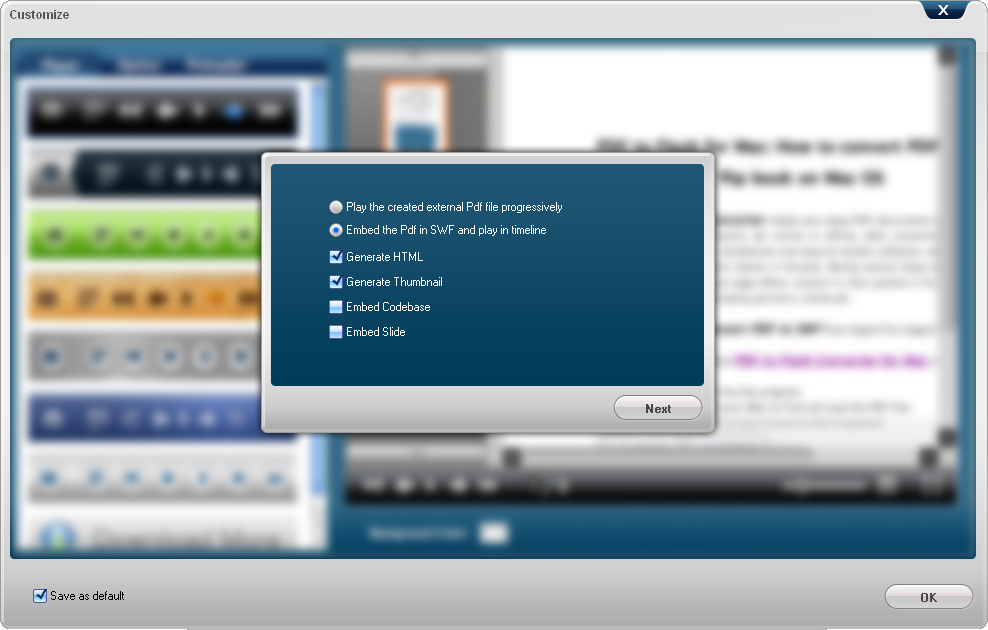 Business & Finance Software, PDF Conversion Software Screenshot