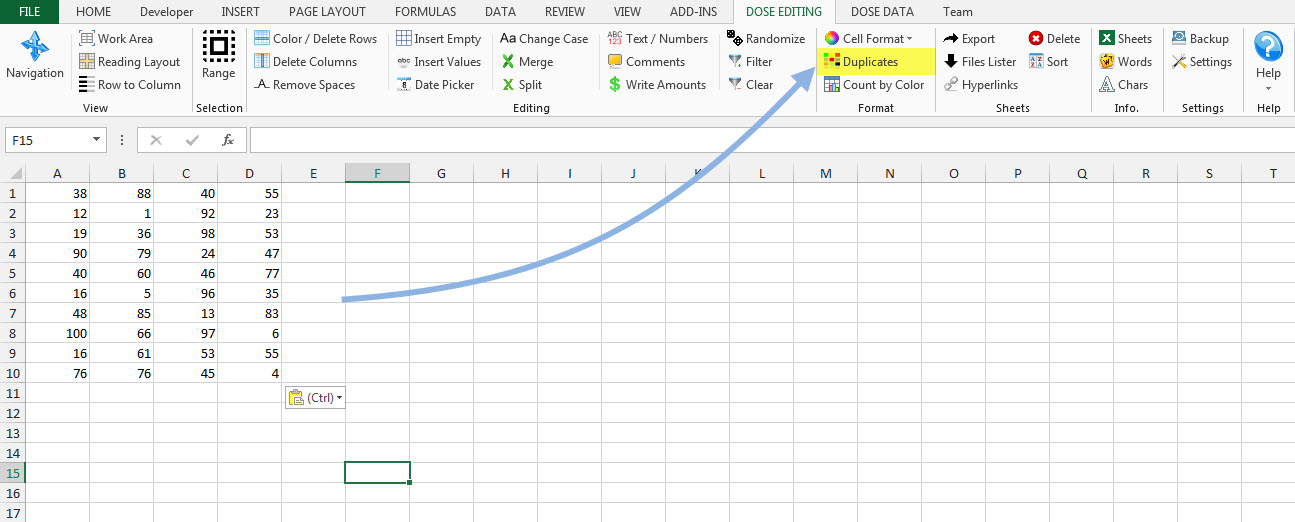 Dose for Excel Add-In Screenshot 13