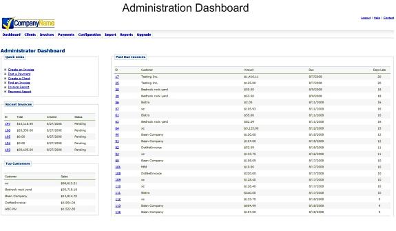DotNetInvoice, Business & Finance Software Screenshot