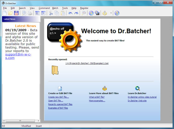 Dr.Batcher Screenshot